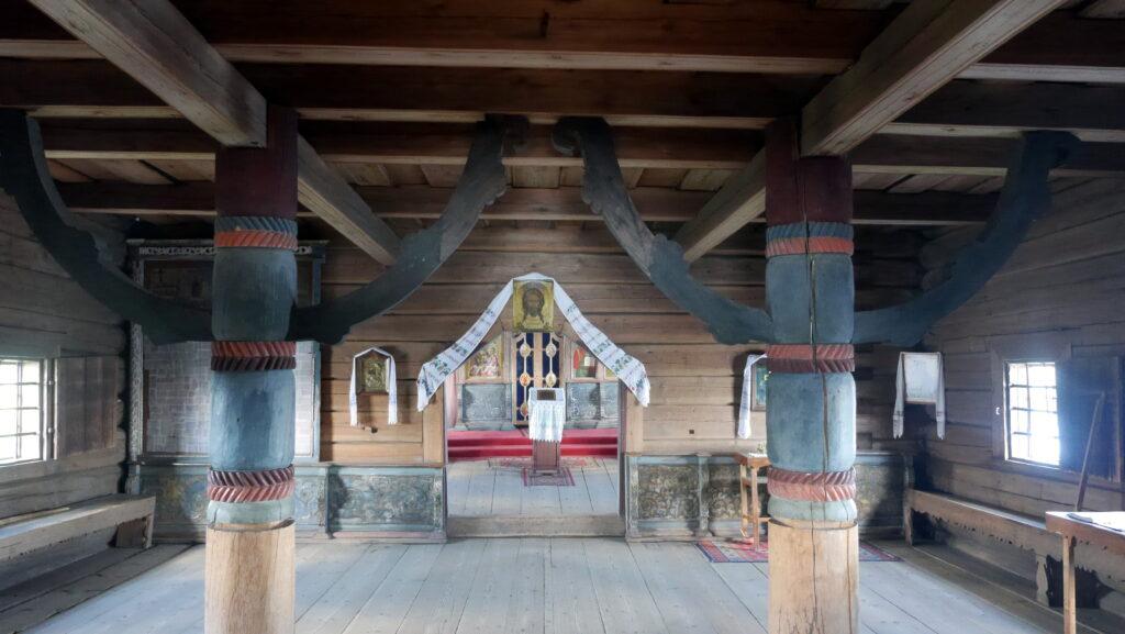 Album de photographies de l'église en bois de la Dormition à Kondopoga