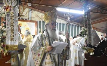 Le patriarche de Jérusalem Théophile III a célébré la liturgie de la Transfiguration sur le Mont Thabor
