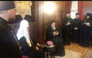 Video of the meeting between the two patriarchs