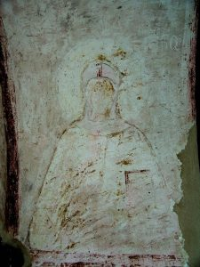 Une fresque ancienne unique de sainte Nina a été découverte en Géorgie