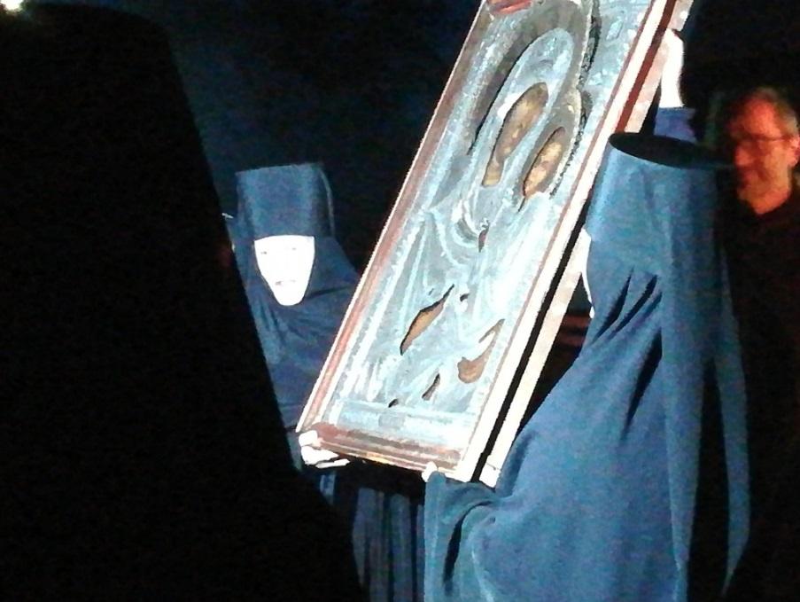 Le fils d'un officier allemand restitue une icône à un monastère de Moscou après plus de 75 ans