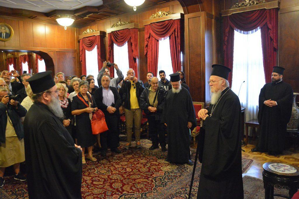 Le patriarche œcuménique : « Nombreux sont ceux qui me prennent pour cible, mais j'ai la conscience tranquille ».