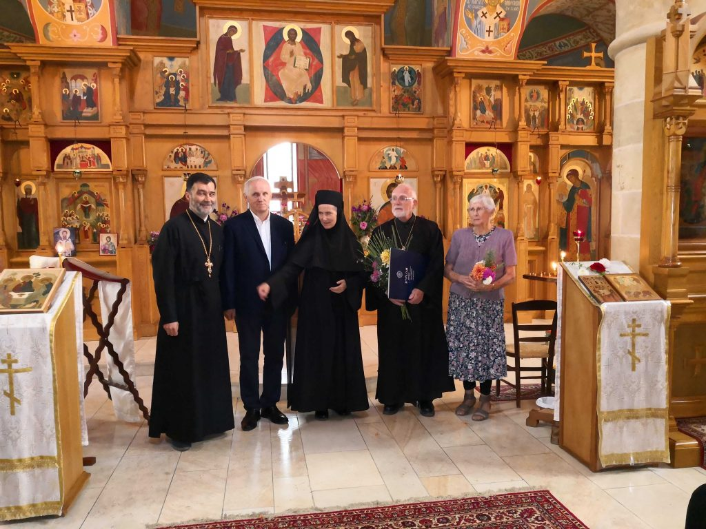 "Father John Breck received the ""Prince Konstanty Ostrogski's Award"""