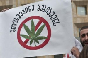 After Church protests, Georgian authorities postponed a law on marijuana