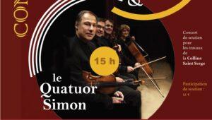 Concert de soutien pour les travaux de colline Saint-Serge à Paris