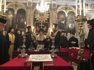 Patriarcat œcuménique : « Nous déployons tous nos efforts en faveur de l'unité et de la stabilité de l'orthodoxie »