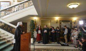 Le métropolite Hilarion : la décision de suspendre la commémoration liturgique du patriarche de Constantinople ne signifie pas la rupture totale de la communion eucharistique