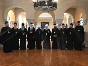 Le métropolite Hilarion a rencontré le primat et les membres du Saint-Synode de l'Église orthodoxe serbe