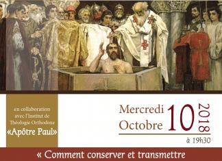 Jean-Claude Larchet : « Comment conserver et transmettre notre foi chrétienne dans un monde qui se déchristianise ? » – 10 octobre à Bruxelles