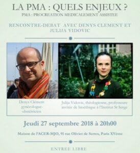 «La PMA : quels enjeux ?», une rencontre-débat à Paris le 27 septembre