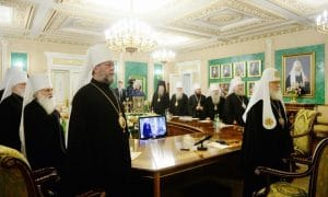 The Moscow Patriarchate suspends concelebrations with the Patriarchate of Constantinople