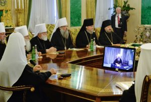 Statement of the Holy Synod of the Russian Orthodox Church concerning the uncanonical intervention of the Patriarchate of Constantinople in the canonical territory of the Russian Orthodox Church – full text