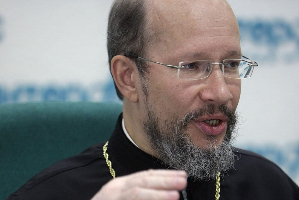 """Archbishop John of Charioupolis's  letter to Patriarch Kirill of Moscow is fake, and possibly """"provocation"""""""