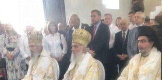 Le patriarche de Serbie a consacré la première église serbe au Botswana