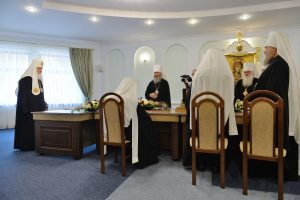 Statement by the Holy Synod of the Russian Orthodox Church concerning the encroachment of the Patriarchate of Constantinople on the canonical territory of the Russian Church