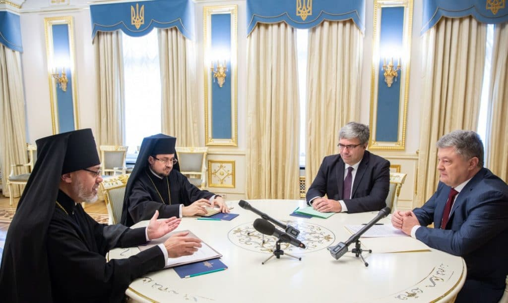 """""""We are in the final phase"""", said the Ecumenical Patriarchate exarchs in Kyiv"""