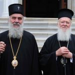 Les patriarches de Constantinople Bartholomée et de Serbe Irénée ont concélébré la Liturgie à Thessalonique le dimanche 30 septembre