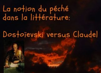 La notion du péché dans la littérature – la prochaine rencontre de l'atelier Littéramorphose