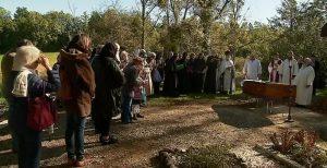 Reportage : «L'archimandrite Barsanuphe inhumé au monastère de Grassac»