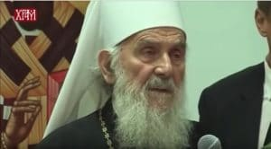 "The Serbian Patriarch Irinej, ""What the Ecumenical Patriarch is doing is unheard of!"""