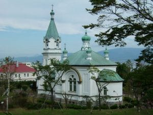 Japon : « L'église orthodoxe de Hakodate »