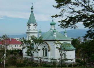 Japon : «L'église orthodoxe de Hakodate»