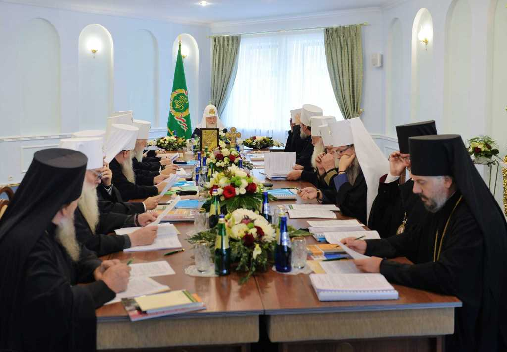 «Le Saint-Synode de l'Église orthodoxe russe reconnaît impossible de demeurer plus longtemps en communion avec le Patriarcat de Constantinople»