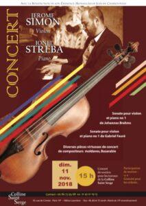 Un concert de soutien pour les travaux de la colline Saint-Serge