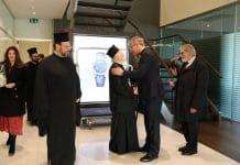 Le patriarche œcuménique Bartholomée est arrivé à Genève