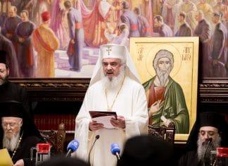 Allocution du patriarche de Roumanie Daniel adressée au patriarche œcuménique Bartholomée à l'occasion de la session solennelle du Saint-Synode de l'Église orthodoxe roumaine