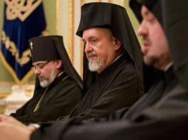 Le métropolite Emmanuel de France est arrivé à Kiev afin de préparer le concile de réunification