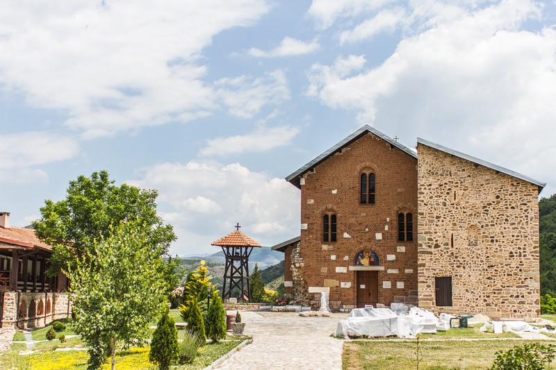 «Banjska, le monastère martyr» (Kosovo)