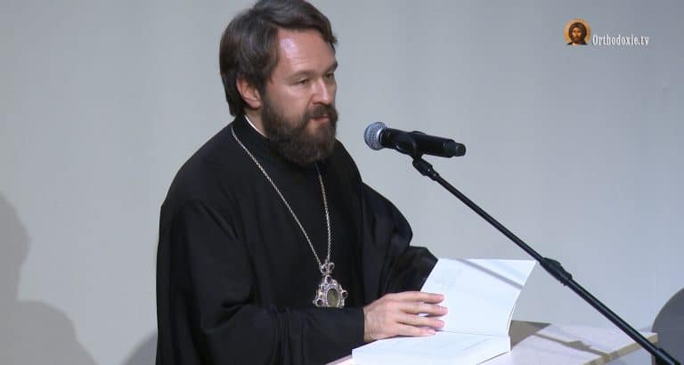 """The Architecture, Icons and Music of the Orthodox Church"": presentation by the author Metropolitan Hilarion"