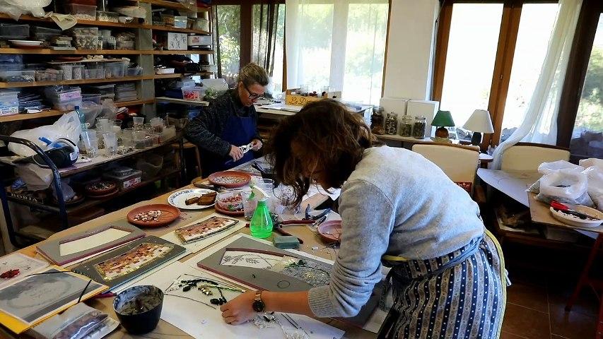 « Réaliser une mosaïque, un témoignage d'amour et d'unité »