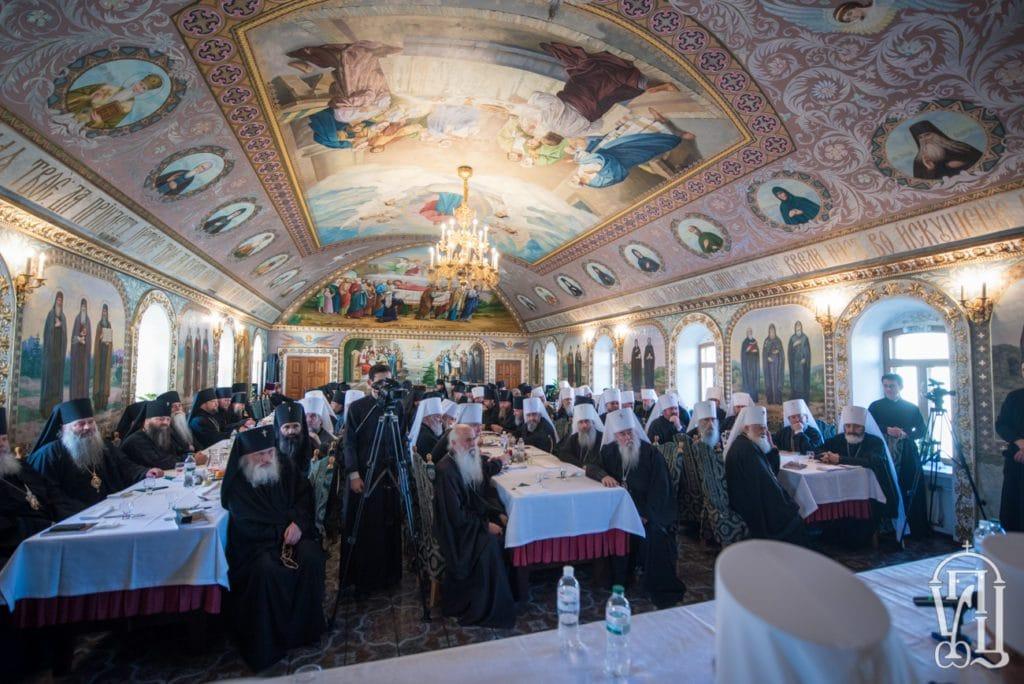 No meeting between the Ukrainian Orthodox Church bishops and president Poroshenko