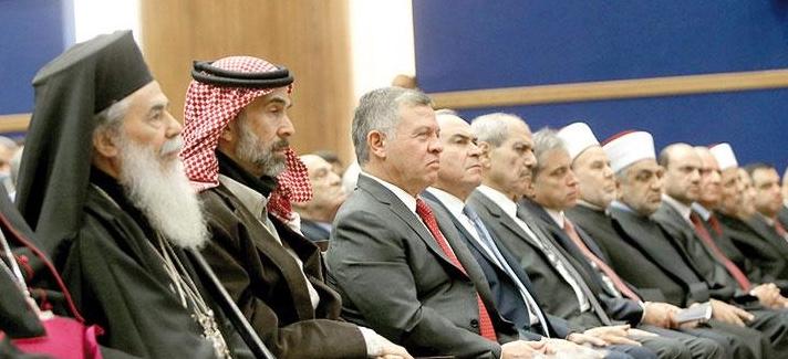 En Jordanie, le patriarche de Jérusalem Théophile III parle des menaces qui pèsent sur les chrétiens de la région