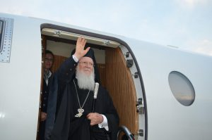 Ecumenical Patriarch Bartholomew will visit the United States next July
