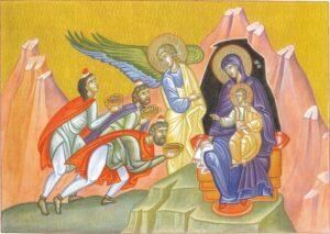 Des cartes de vœux de Noël proposées par le monastère de la Transfiguration