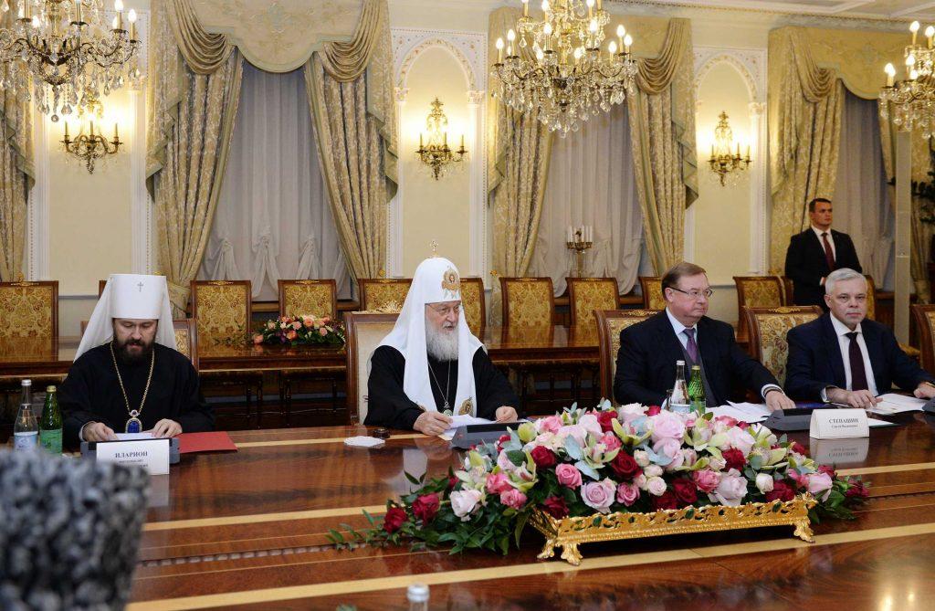 Le patriarche de Moscou Cyrille: «Si Poutine déclarait qu'il convoque l'assemblée des évêques le 15 décembre… Que dirait-on?»