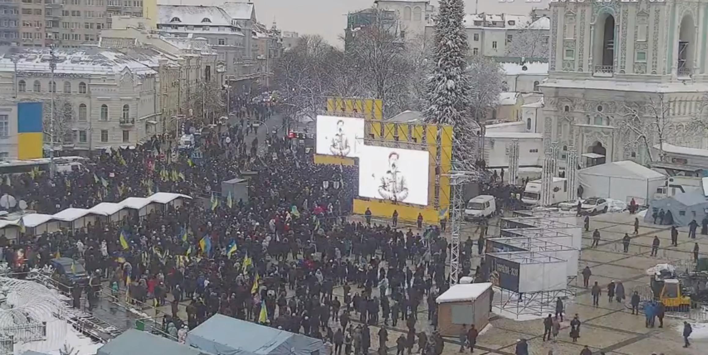 Suivre en direct le «concile de réunification» à Kiev