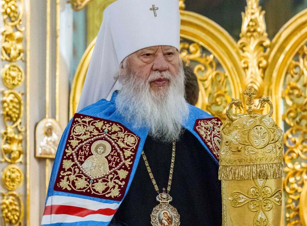 Le métropolite d'Odessa Agathange (Église orthodoxe d'Ukraine) lance un appel au patriarche de Moscou Cyrille pour contribuer à la libération des marins ukrainiens récemment arrêtés à Kertch
