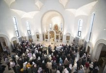 La consécration mineure de l'église de Tous-les-Saints à Strasbourg