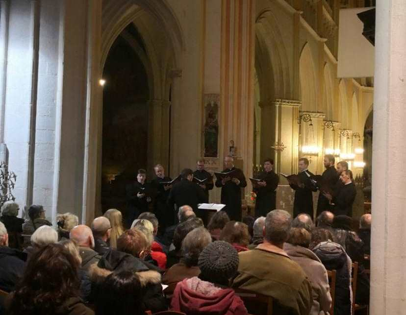 A Quimper, les chants de la sainte Russie attirent le public