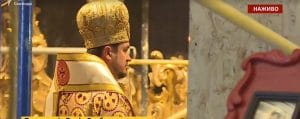 L'exarque ukrainien du Patriarcat œcuménique a célébré sa première liturgie à Kiev