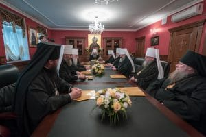 "The Holy Synod of the Orthodox Church of Ukraine declares the decisions of the future ""Council of Unification"" as invalid"