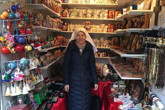 St Elisabeth Convent at New York Christmas Market