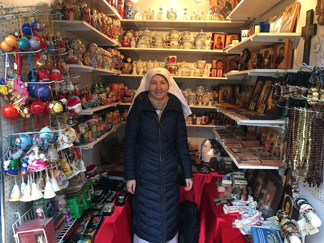 St Elisabeth Convent at New York Christmas Market