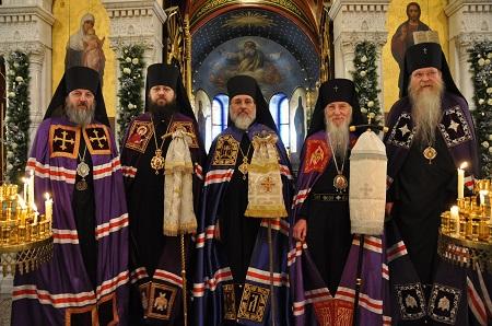 Episcopal consecration of Archimandrite Alexander (Echevarria)