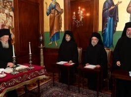 Décision du Saint-Synode du Patriarcat de Constantinople concernant le rétablissement de sa stavropégie à Kiev
