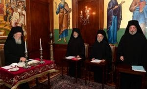 Decision of the Constantinople Patriarchate Holy Synod concerning the restoration of its stavropegion in Kyiv